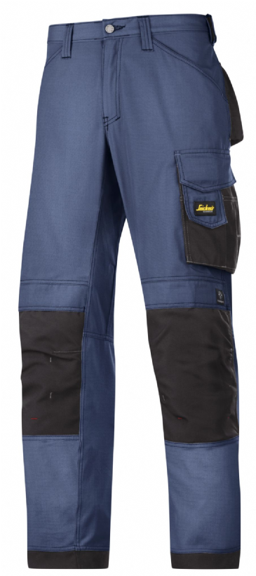 Snickers 3313 Rip-Stop Craftsmen Trousers (Navy / Black)